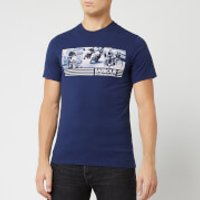 Barbour International Men's Comp T-Shirt - Medieval Blue - M - Blue