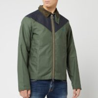 Barbour Men's Beacon Broad Wax Jacket - Light Moss - S - Green