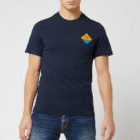 Barbour Men's Beacon Small Diamond T-Shirt - New Navy - S - Blue