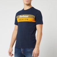 Barbour Men's Beacon Wray T-Shirt - New Navy - S - Blue