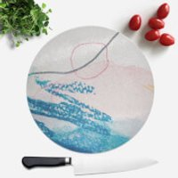 Wish Wash With Circle Round Chopping Board - Wish Gifts