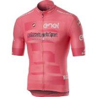Castelli Giro D'Italia Squadra Jersey - Rosa Giro - XXL - Pink