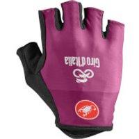 Castelli Giro D'Italia Gloves - Ciclamino - L - Purple