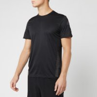 adidas Men's 25/7 Runner Short Sleeve T-Shirt - Black - XL - Black