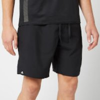 adidas Men's 3 Stripe Swim Shorts - Black - M - Black