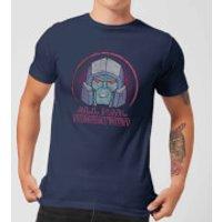Transformers All Hail Megatron Mens T-Shirt - Navy - L - Navy