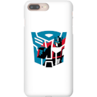 Transformers Autobot Icon Phone Case for iPhone and Android - iPhone 8 - Tough Case - Matte