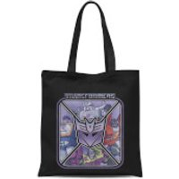 Transformers Decepticons Tote Bag - Black