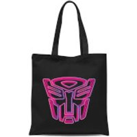 Transformers Neon Autobot Tote Bag - Black