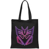 Transformers Neon Decepticon Tote Bag - Black