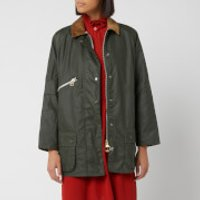 Barbour Alexa Chung Edith Wax Jacket - Duffle Bag/northumberland