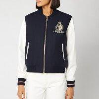 Tommy Hilfiger Women's Belle Baseball Jacket - Sky Captain - US 6/UK 10 - Blue