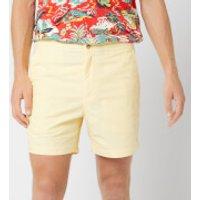 Polo Ralph Lauren Men's Classic Fit Prepster Shorts - Yellow Oxford - L - Yellow