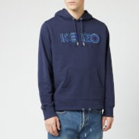 KENZO Men's Paris Cords Pop Over Hoodie - Ink - XS - Blue