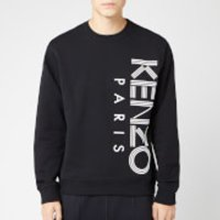 KENZO Men's Vertical Logo Sport Sweatshirt - Black - S - Black