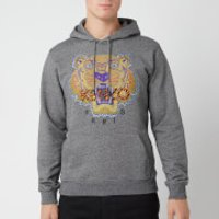 KENZO Men's Hiking Tiger Hoodie - Anthracite - M - Grey
