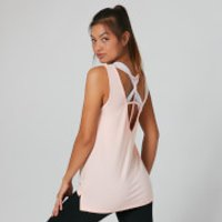 Image of Myprotein Strap Detail Vest Top - Pearl Blush - L