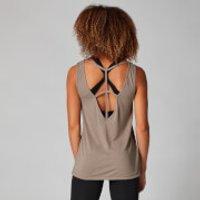 Image of Myprotein Strap Detail Vest Top - Praline - XS