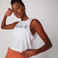 MP Exhale Vest - White - S