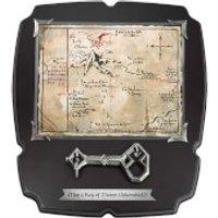 The Hobbit Thorin's 15 x 13  Map & Key Replica - Hobbit Gifts
