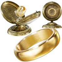 Lord of the Rings The One Ring (Unetched) with Metal Display - Lord Of The Rings Gifts