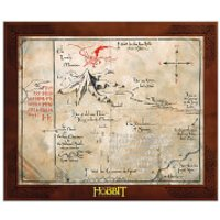 The Hobbit Thorin Oakenshield Map Replica - Hobbit Gifts