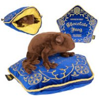 Harry Potter Chocolate Frog Plush & Pillow - Pillow Gifts