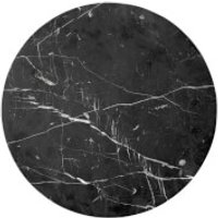 Menu Androgyne Table Top for Side Table - Black Marble