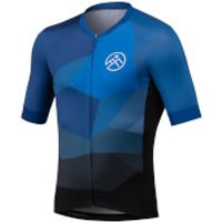 54 Degree Strato Jersey - Cerulean Blue - M - Blue