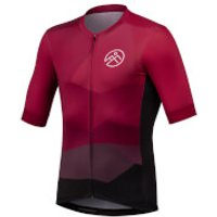 54 Degree Strato Jersey - Burnt Red - M - Red