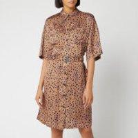 PS Paul Smith Women's Leopard Dress - Multi - IT 42/UK 10