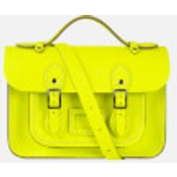 The Cambridge Satchel Company Womens Mini Satchel - Fluoro Yellow