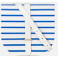 The Cambridge Satchel Company Saddle Bag - Blue Stripe