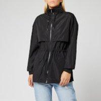 KENZO Women's Light Nylon Wind Breaker Jacket - Black - M - Black
