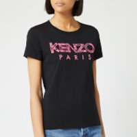 KENZO Women's Light Cotton Single Jersey T-Shirt - Black - XS - Black