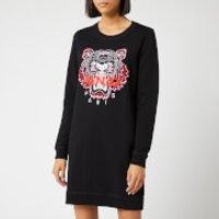 Kenzo Classic Tiger Moleton Sweat Dress - Black