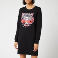 KENZO Women's Classic Tiger Moleton Sweat Dress - Black - XS - Black