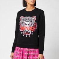 Kenzo Classic Tiger Light Moleton Sweatshirt - Black