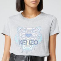 Kenzo Classic Tiger Light Cotton Single Jersey T-shirt - Pearl Grey