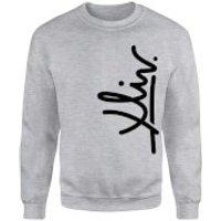 How Ridiculous XLIV Script Vertical Sweatshirt - Grey - XXL - Grey