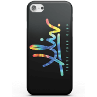 How Ridiculous XLIV Script Tie-Dye Dark Phone Case for iPhone and Android - iPhone X - Tough Case -