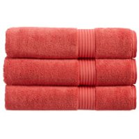 Christy Supreme Hygro Towels - Coral - Bath Sheet