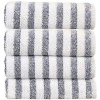 Christy Soho Stripe 4 Piece Towel Bale - Ocean