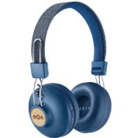 The House of Marley Positive Vibration Wireless Headphones - Denim - Headphones Gifts
