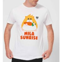 Hamsta Mila Sunrise Men's T-Shirt - White - S - White