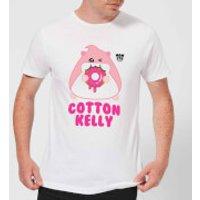 Hamsta Cotton Kelly Mens T-Shirt - White - XXL - White