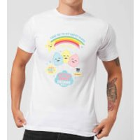 Hamsta Cotton Candy Dreams Mens T-Shirt - White - S - White