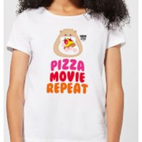 Hamsta Pizza Movie Repeat Women's T-Shirt - White - 5XL - White - Food Gifts