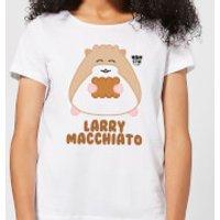 Hamsta Larry Macchiato Women's T-Shirt - White - XS - White