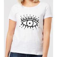 Eye Eye Women's T-Shirt - White - L - White